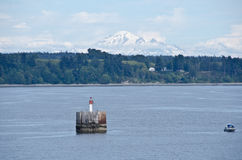 Ferry to Victoria, British Columbia Royalty Free Stock Image