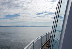 Ferry to Victoria, British Columbia Royalty Free Stock Photo