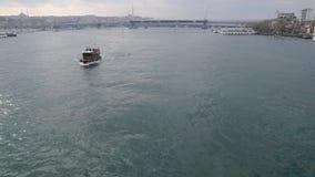 Ferry traffic stock video