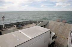 Ferry Transport - Magellan Strait - Chile Stock Image