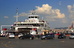 Ferry transport stock image