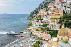 Ferry transport in Southern Italy. Stock Photos