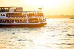 Ferry transportation in Istanbul Stock Image