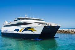 Ferry vers l'île de kangourou, Australie images stock