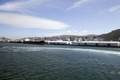 Ferry View Wellington New Zealand Royalty Free Stock Photo