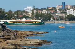 Ferry viril, Australie Image libre de droits
