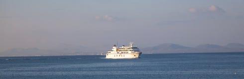 Ferry Volcan de Timanfaya阿玛斯 库存照片
