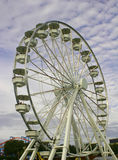 Ferry wheel. In adventure park Stock Photos