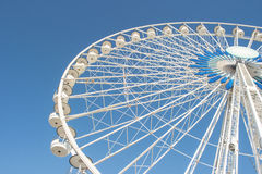 Ferry Wheel, Marseille, France. View of Ferry Wheel, Marseille, France Stock Images