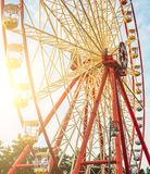 Ferry wheel in park Royalty Free Stock Image