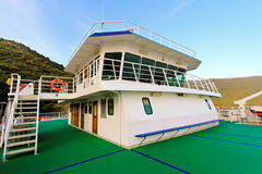 Ferry wheelhouse Royalty Free Stock Image