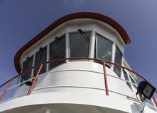 Ferry wheelhouse overhead Stock Images