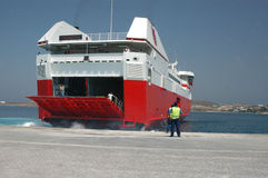 Ferryboat foto de stock