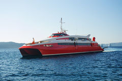 Ferryboat da velocidade Foto de Stock