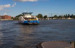 Ferryboat de Amsterdão Imagens de Stock Royalty Free