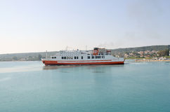 Ferryboat de balsas Ionian Fotografia de Stock Royalty Free