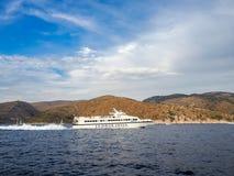 Ferryboat de Jadrolinija, Croácia fotos de stock royalty free