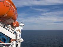 Ferryboat do mar imagem de stock