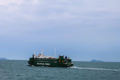 Ferryboat do passageiro de Seatran na ilha de Samui, Surat Thani foto de stock royalty free