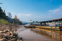 Ferryboat Golden Triangle Stock Photography