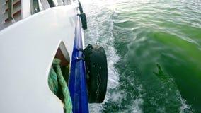 Ferryboat i morze zbiory wideo
