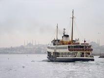ferryboat istanbul Royaltyfri Fotografi
