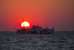 Ferryboat in Istanbul Stock Images