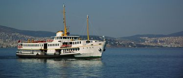 Ferryboat in Istanbul, Turkey Stock Images