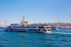 Ferryboat in Istanbul Royalty Free Stock Photos