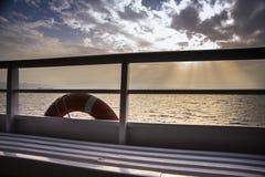 Ferryboat Life buoy Royalty Free Stock Photo