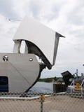 Ferryboat na porta Imagens de Stock Royalty Free