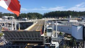 Ferryboat odjeżdżanie od zatoki zbiory