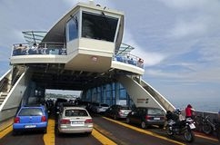 Ferryboat On The Lake Constance Stock Photography