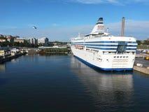 Ferryboat port Stock Image
