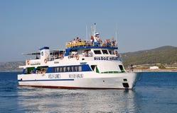 Ferryboat, Rhodes Zdjęcie Stock