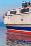 Ferryboat in the sea Stock Image