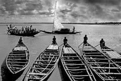 Ferryboat of Sundarban. Stock Images