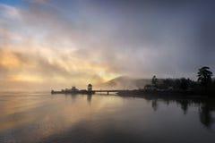 Ferryboat Sunrise Royalty Free Stock Images