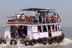 Ferryboat w Arabskim morzu Obraz Royalty Free