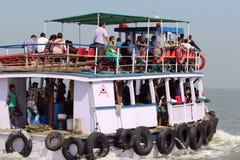 Ferryboat w Arabskim morzu Zdjęcie Royalty Free