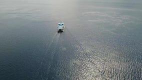Ferryboat, w dennym Gilimanuk Bali, Indonezja zdjęcie wideo