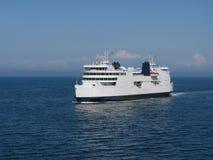 ferryboathav Arkivfoto
