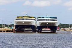 Ferryboats Foto de Stock