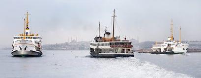 ferryboats istanbul Стоковые Фото