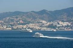 ferryboats messina канала Стоковое Изображение