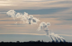 Ferrybridge power station cooling towers Yorkshire Stock Photography