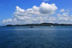 Ferrying от Koh Chang к Паттайя Стоковые Фото