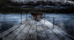 ferryman Royaltyfria Foton