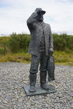 Ferryman em Islândia imagem de stock royalty free