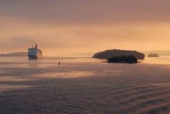 Ferryship Stock Photo